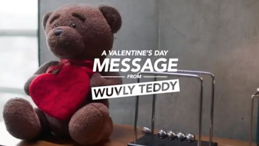 A Valentine's Day Message From Wuvly Teddy
