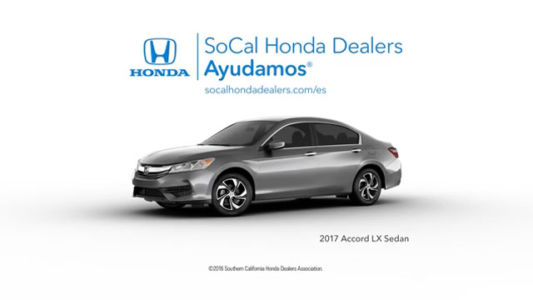 SoCal Honda Dealers / Accord / North Pole Gas (Spanish)