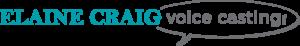 Elaine Craig Voice Casting Logo