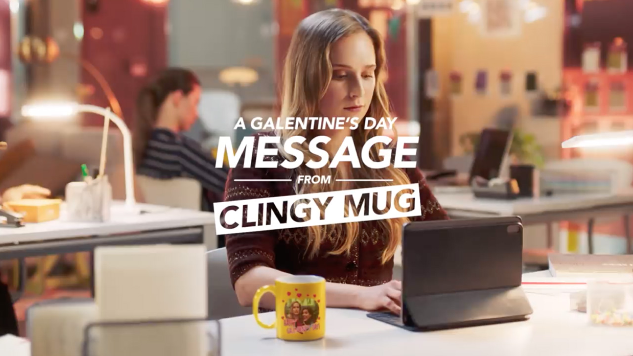 A Galentine's Day Message from Clingy Mug