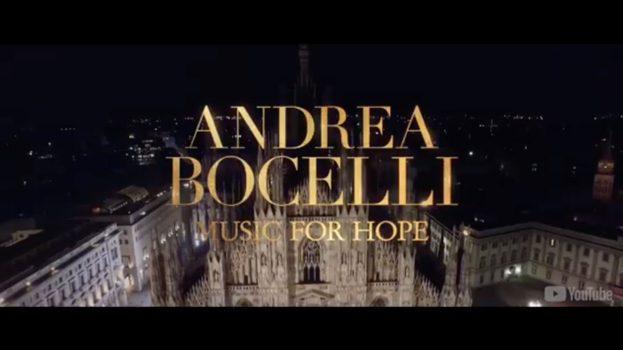 Andrea Bocelli – Music For Hope