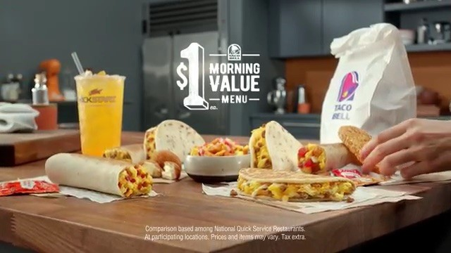 TacoBell Sausage Flat Bread / Morning Value
