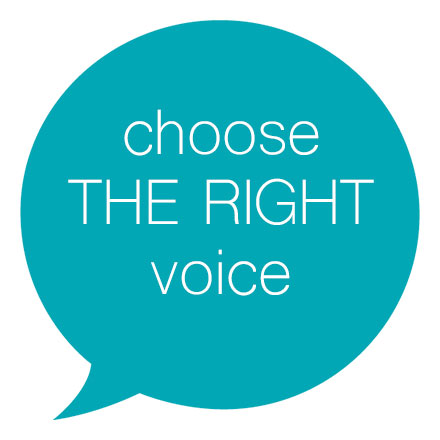 Choose The Right Voice